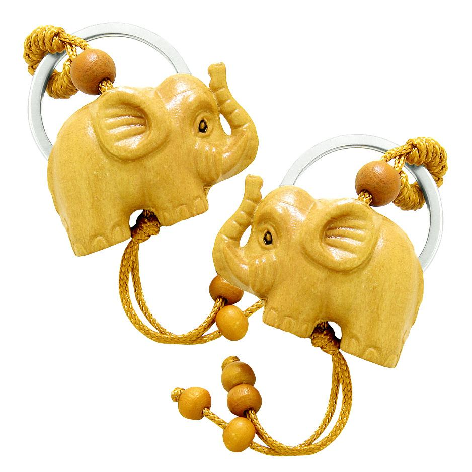 Lucky Elephant Good Luck Charms Keychains Jewelry Amulets and Talismans