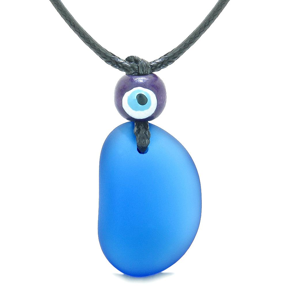 Evil Eye Protection Eye Unique Sea Glass Jewelry Amulets and Gifts