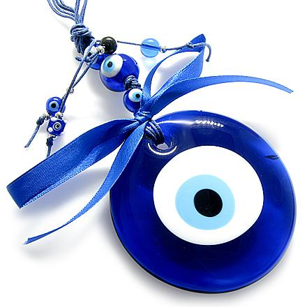 Evil Eye Protection Car Charms and Keyring Amulets