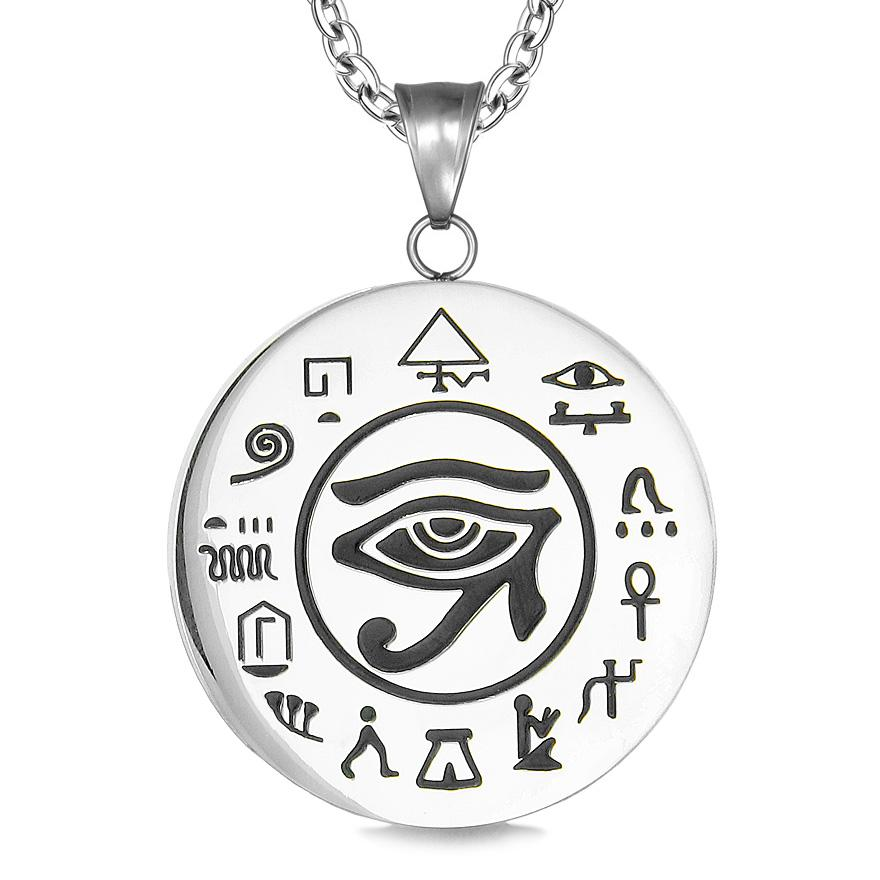 Ancient Egyptian Eye of Horus Protection Symbols Fashion Jewelry Amulets and Talismans