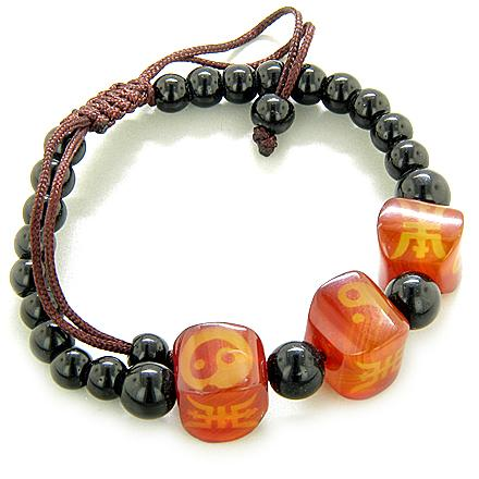 Feng Shui Lucky Yin Yang Bracelets Magic and Balance Powers Amulets Jewelry and Gifts