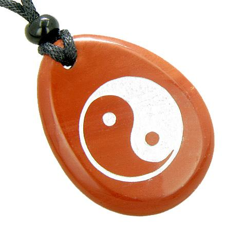 Yin Yang Feng Shui Good Luck Jasper Gemstone Jewelry and Gifts
