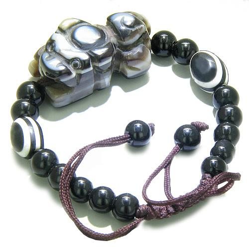 Feng Shui Courage and Lucky Dragon Magic Symbol Unique Bracelets Amulets and Talismans