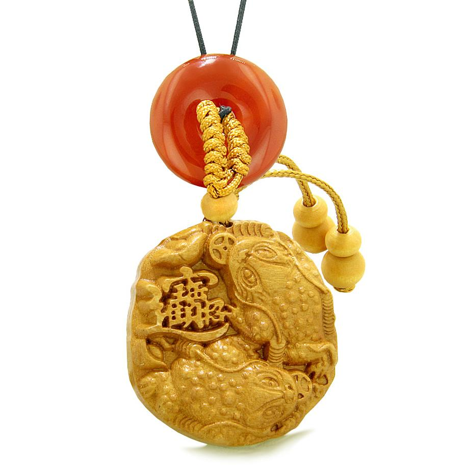 Lucky Frog and Good Luck Todd Fortune Powers Car Charms Jewelry Amulets and Talismans