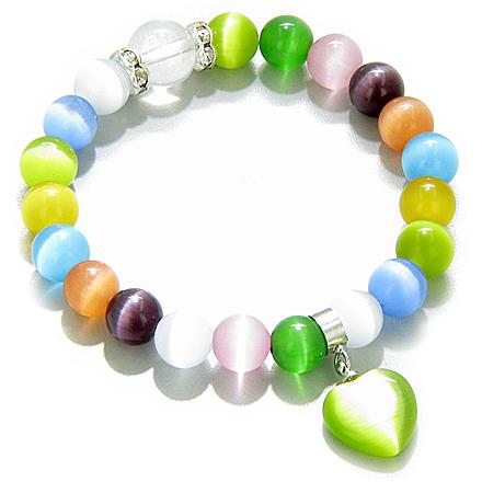 Cats Eye Crystals Lucky Bracelets Fashion and Unique Jewelry Amulets