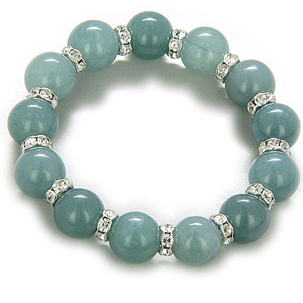 Green Quartz and Aventurine Natural Gemstone Lucky Bracelets Fashion and Unique Jewelry Amulets