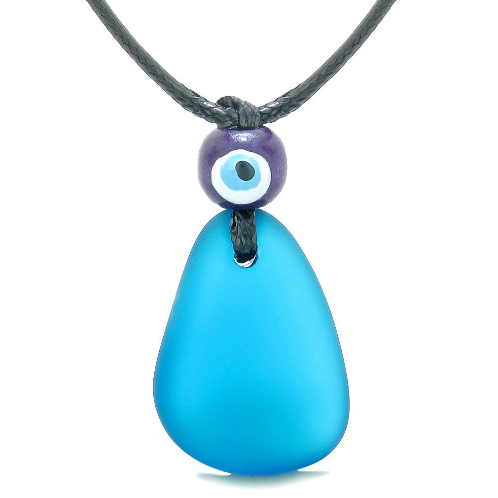 Unique Protection from Evil Eye Sea Glass Jewelry Amulets and Gifts