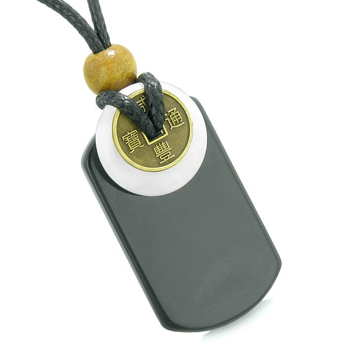 Colorful and Fun Quartz Gemstone Dog Tag Amulets and Jewelry