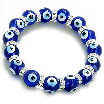 Protection From Evil Eye Bracelets Lucky Crystal Gemstone Jewelry and Amulets