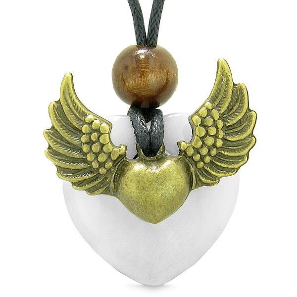 Good Luck Powers Colorful and Fun Quartz Gemstone Angel Jewelry and Gifts