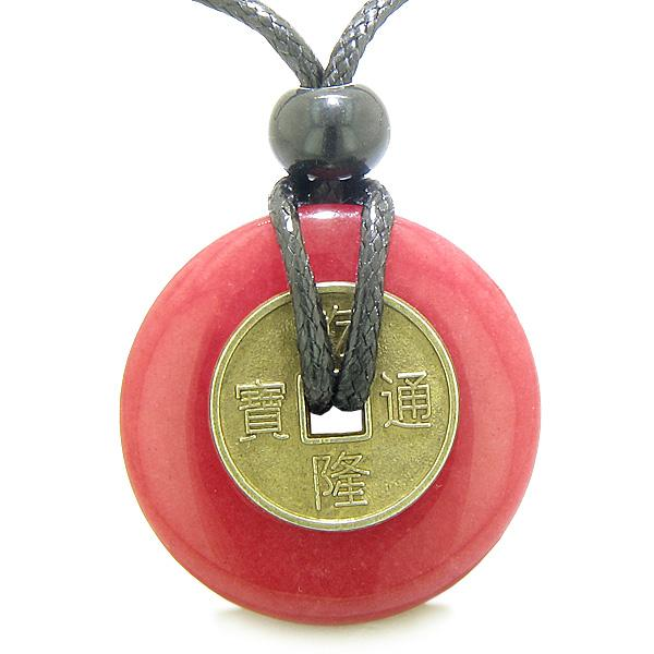 Good Luck Powers Colorful Fun Quartz Gemstone Amulets and Talismans
