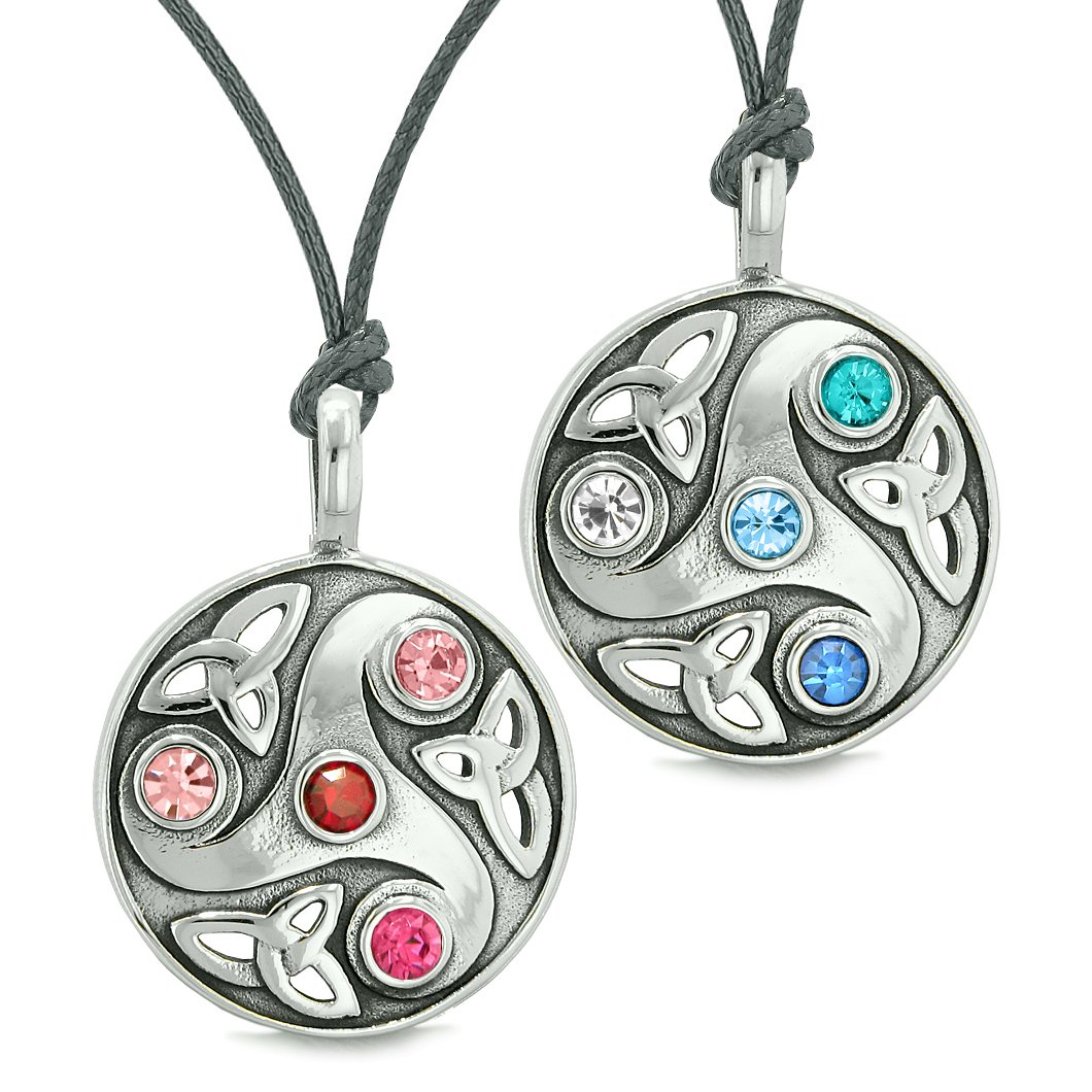 Love Couples and Best Friends Sets Unique Celtic Protection Powers Amulets and Talismans