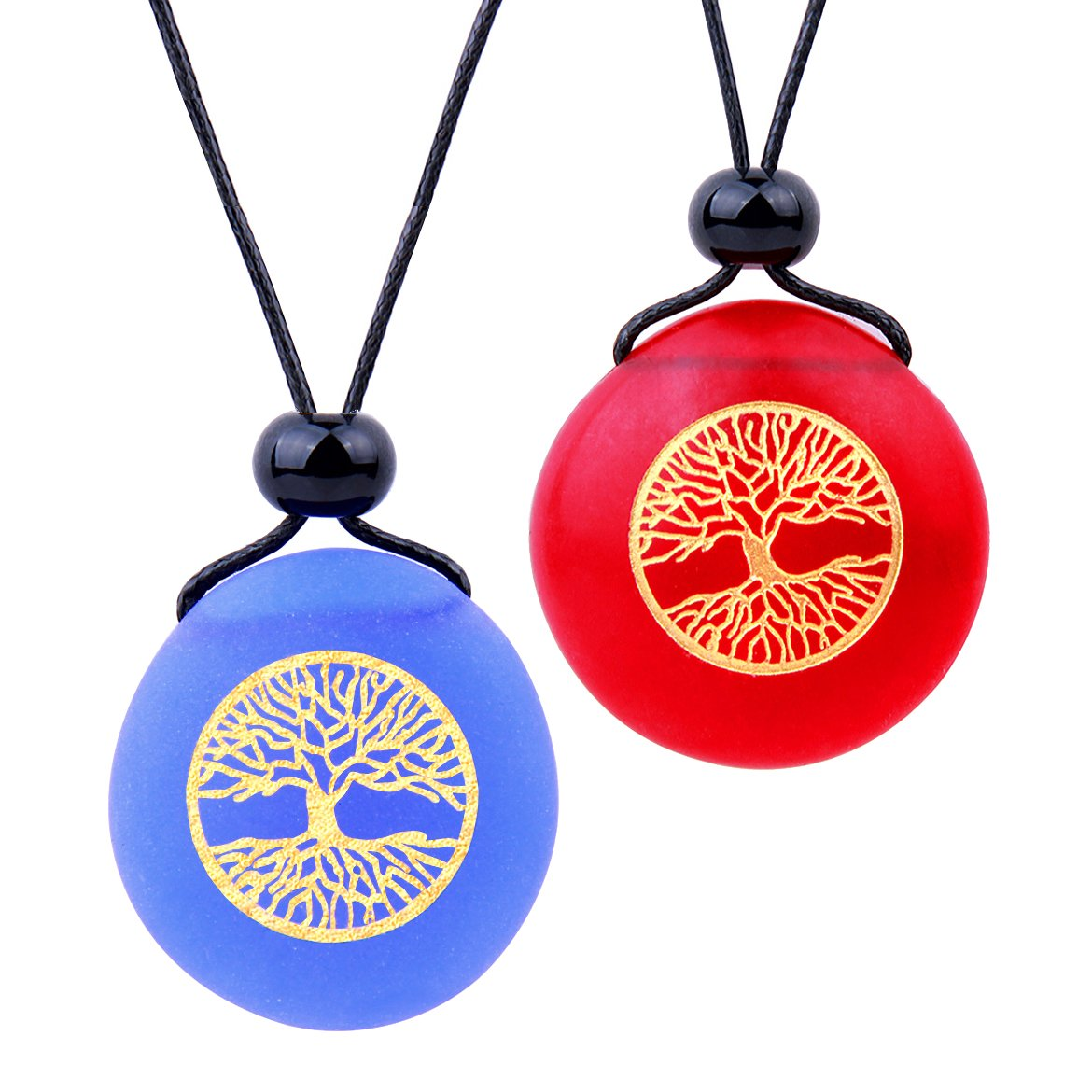 Love Couples and Best Friends Sets Positive Tree of Life Energy Amulets and Gifts