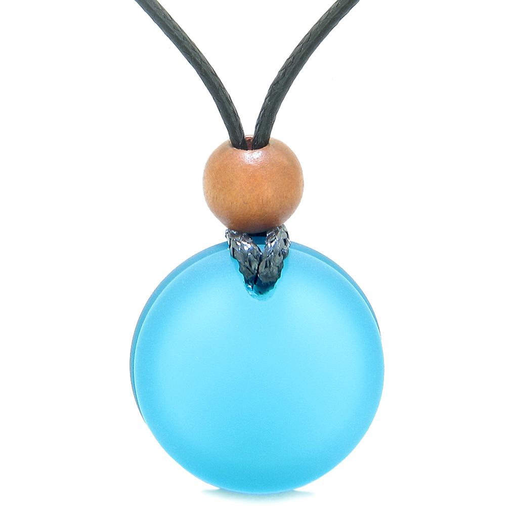 Good Luck Charms Sea Glass Jewelry Full Moon Collection Necklaces Amulets and Talismans