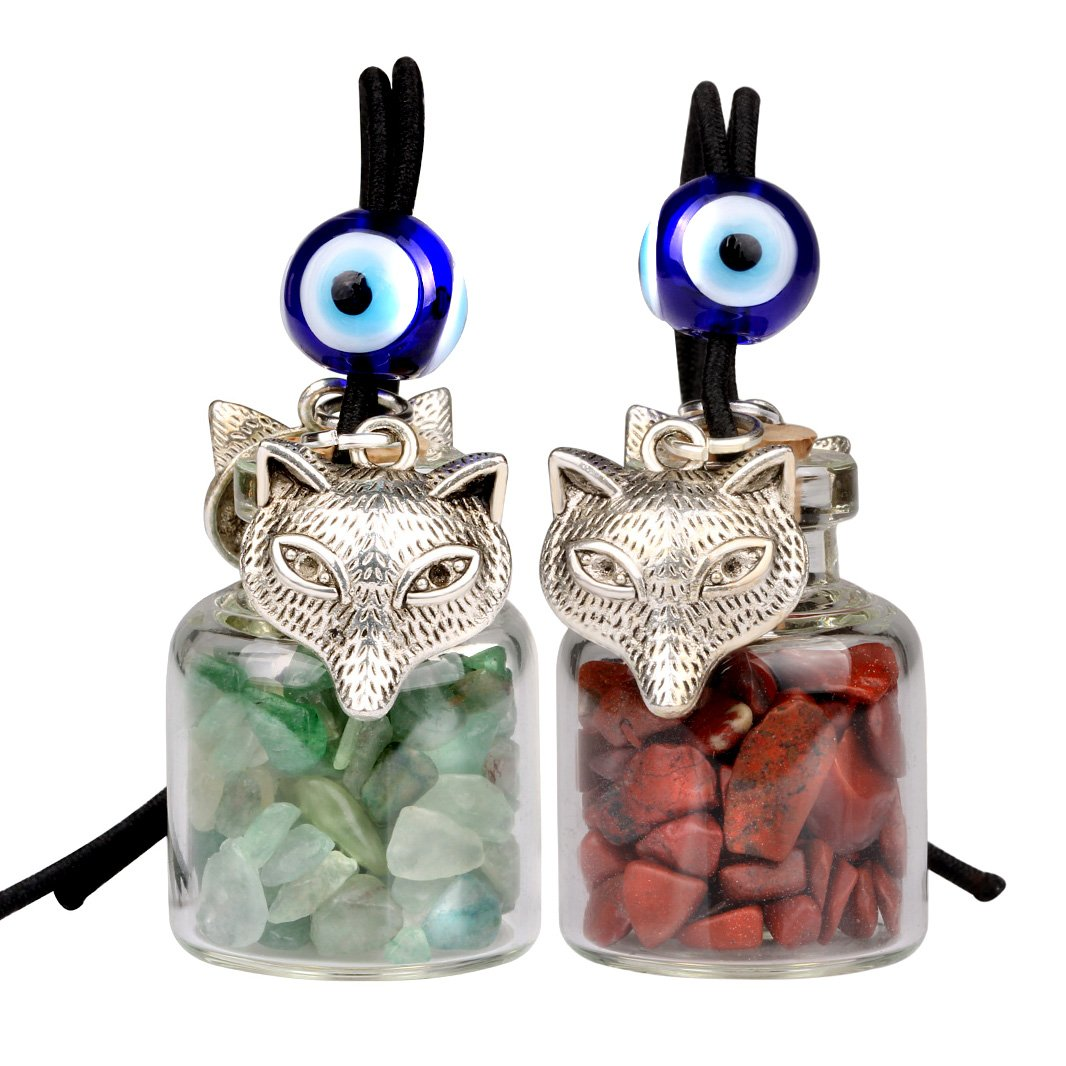 Wolves Car Charm Good Luck Charms Spiritual Powers Amulets and Talismans Gifts