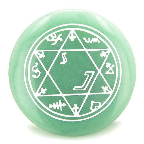 Pocket Wish Stones Unique Gemstone Keepsake King of Solomon Star of David Powers Amulets