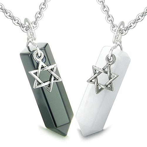Good Luck Gifts King of Solomon Star of David Energy Love Couples and Best Friends Jewelry Amulets