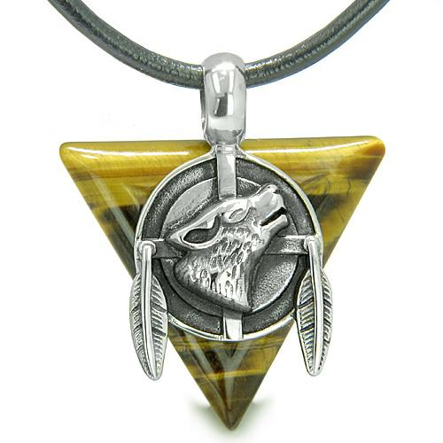 Wolf Jewelry Good Luck Gifts Protection and Wild Powers Amulets and Talismans