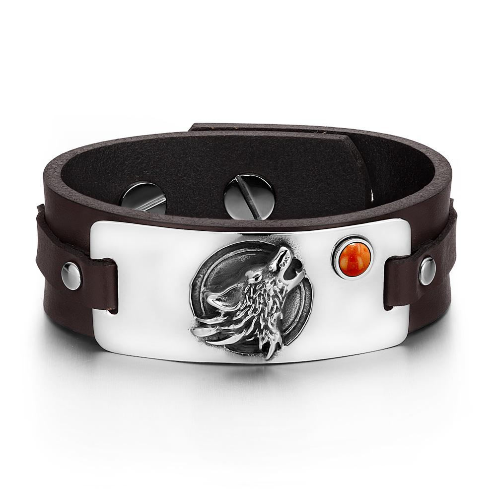 Wolf Unique Bracelets Jewelry Protection Wild Powers Amulets and Talismans Gifts