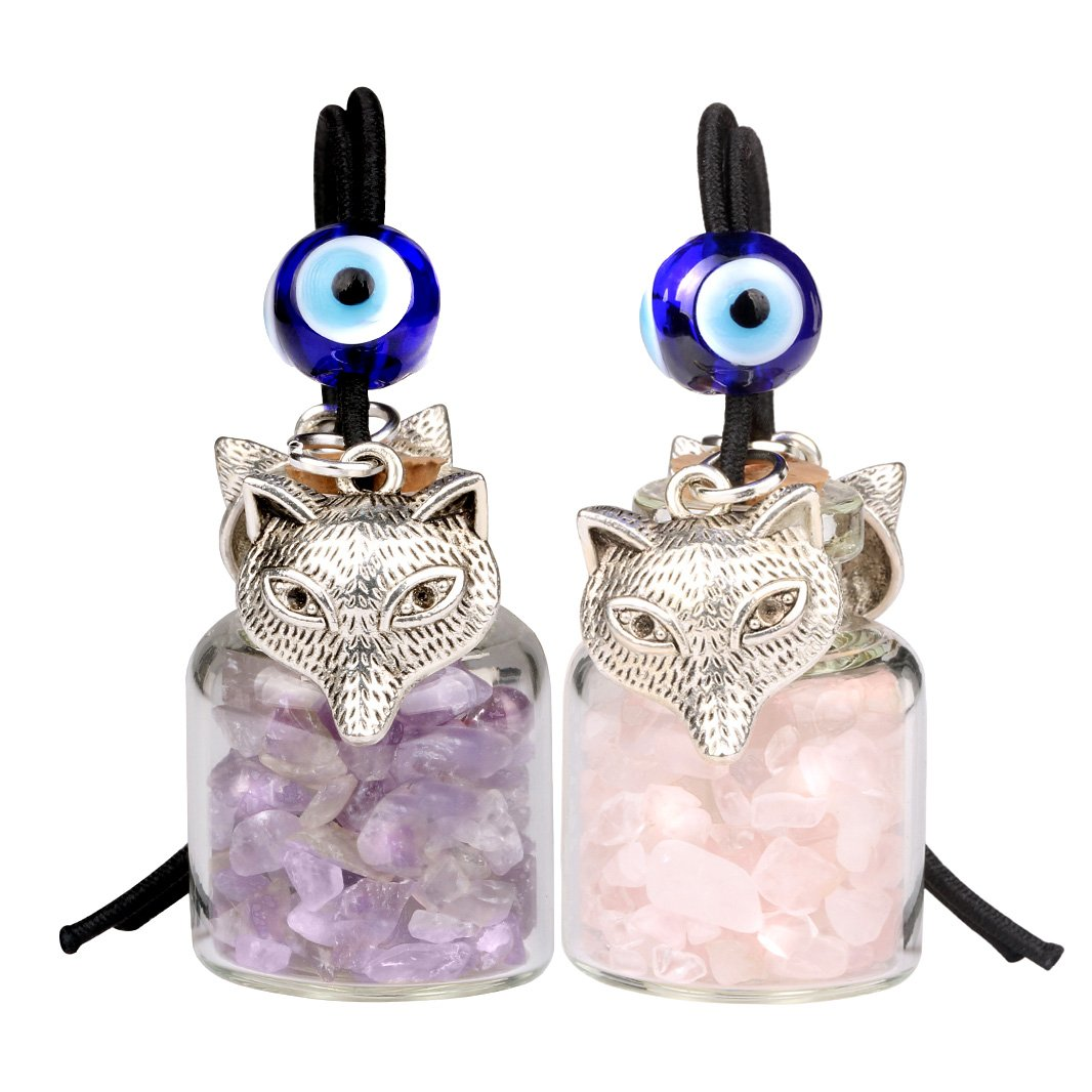 Wolf Car Charm Good Luck Charms Protection Wild Powers Amulets and Talismans Gifts