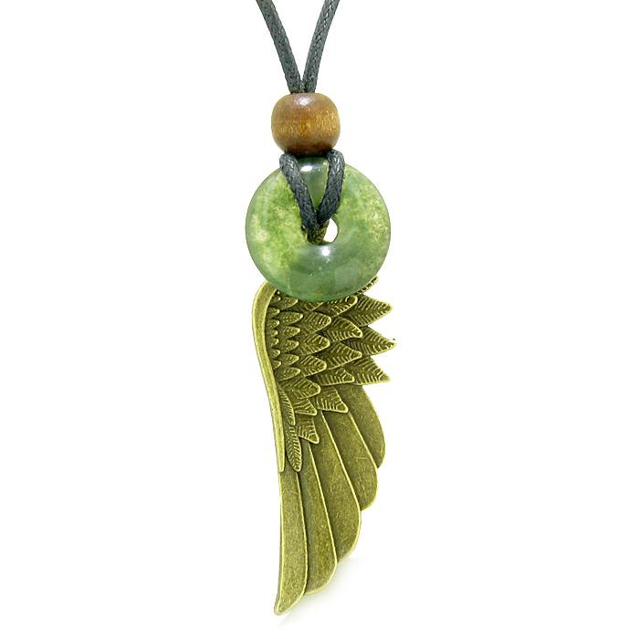 Green Moss Agate Gemstone Angel Jewelry and Gifts