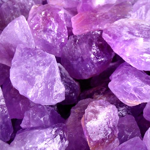 Healing and Protection Powers Amethyst and Purple Quartz Gemstones Crystals
