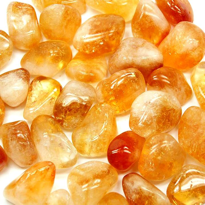 Healing and Good Luck Powers Citrine Gemstone Crystals