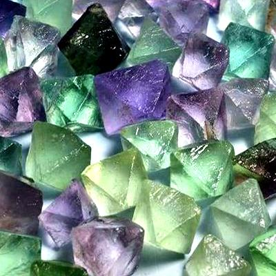Healing and Aura Powers Fluorite Gemstone Crystals
