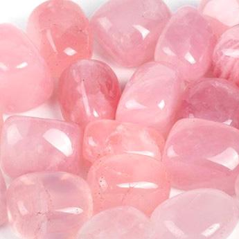 Healing and Love Powers Rose Quartz Gemstone Crystals