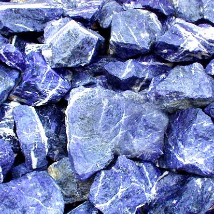Healing and Good Luck Powers Sodalite Gemstone Crystals