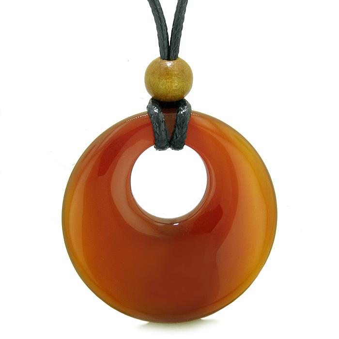 Evil Eye Protection Powers Carnelian Gemstone Medallions Amulets and Talismans