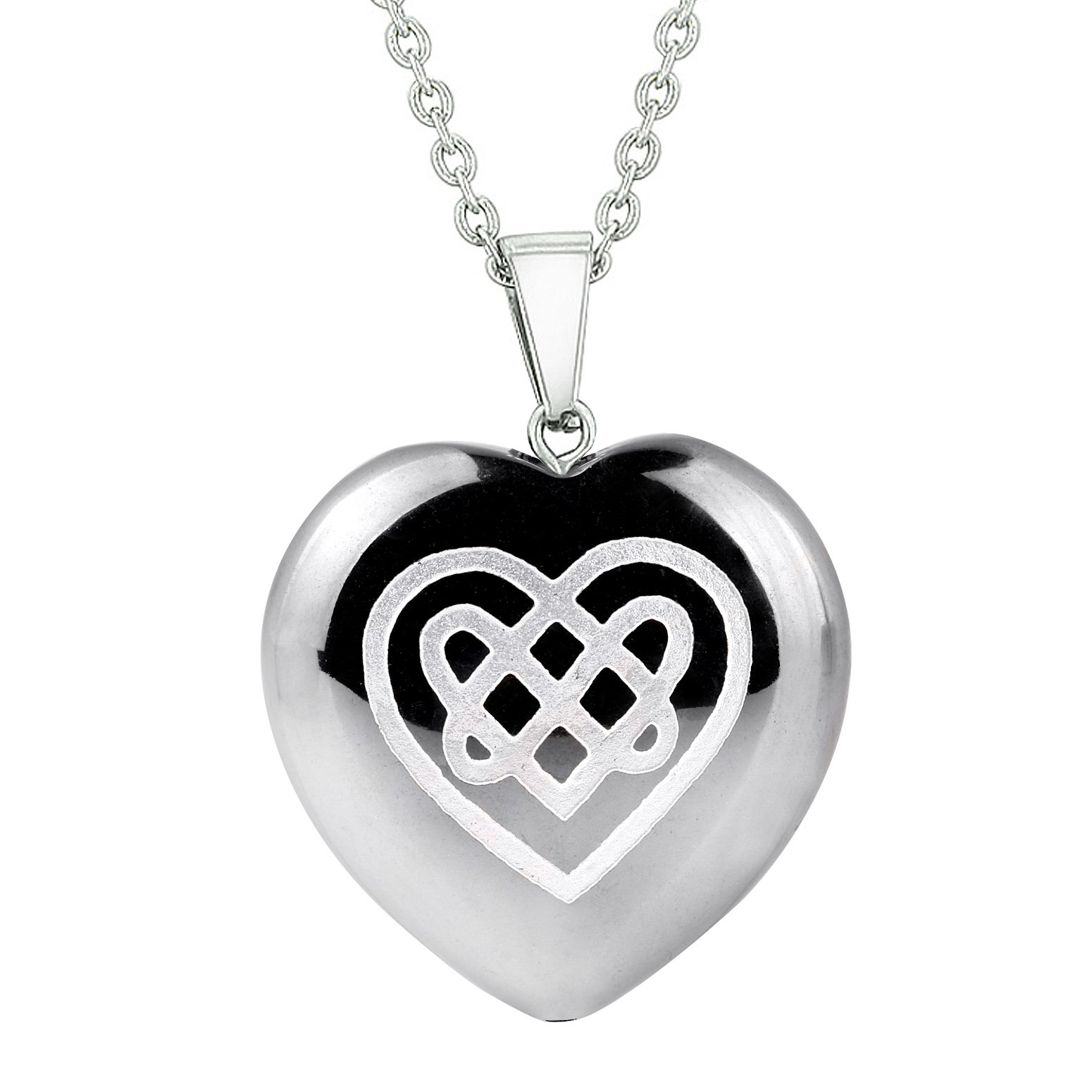 Healing Powers Hematite Gemstone Heart Shaped Gifts and Jewelry