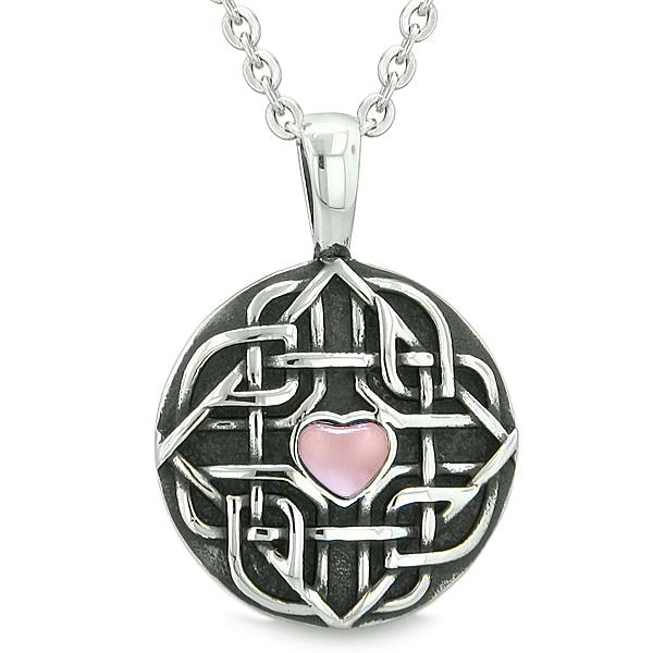 Unique Lucky Heart Shaped Celtic Powers Jewelry Amulets and Talismans