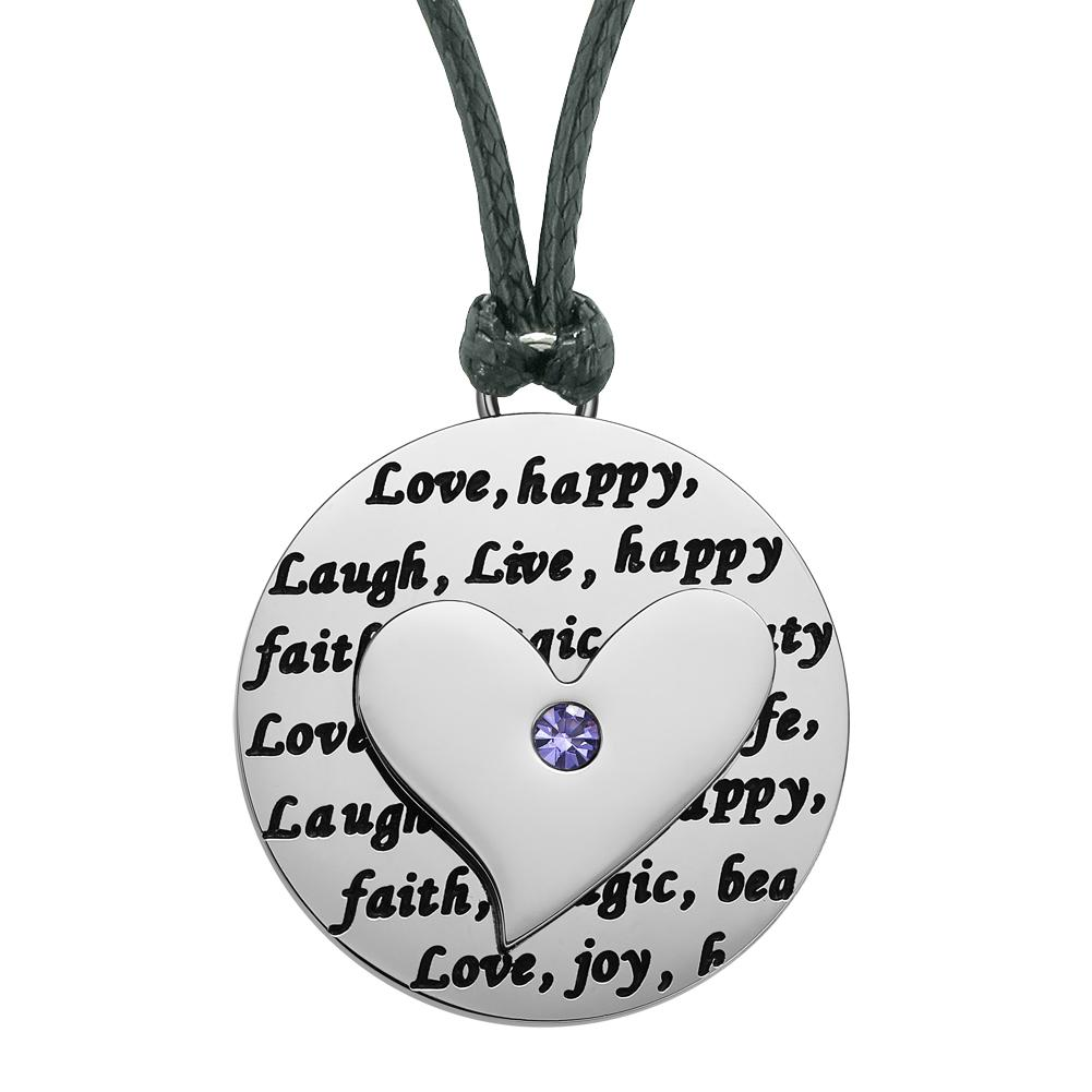 Lucky Heart Charms Amazing Fashion Pendant Necklaces Jewelry and Amulets