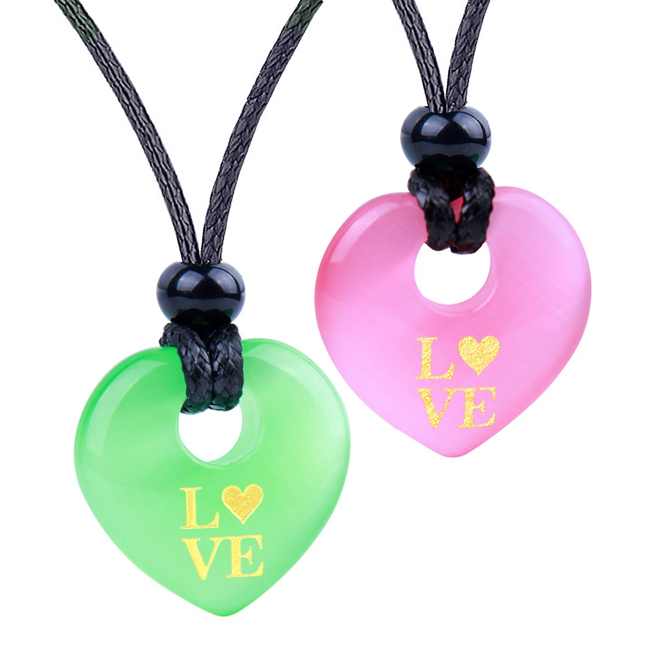 View All Lucky Hearts Unique Gemstone Jewelry Amulets and Gifts