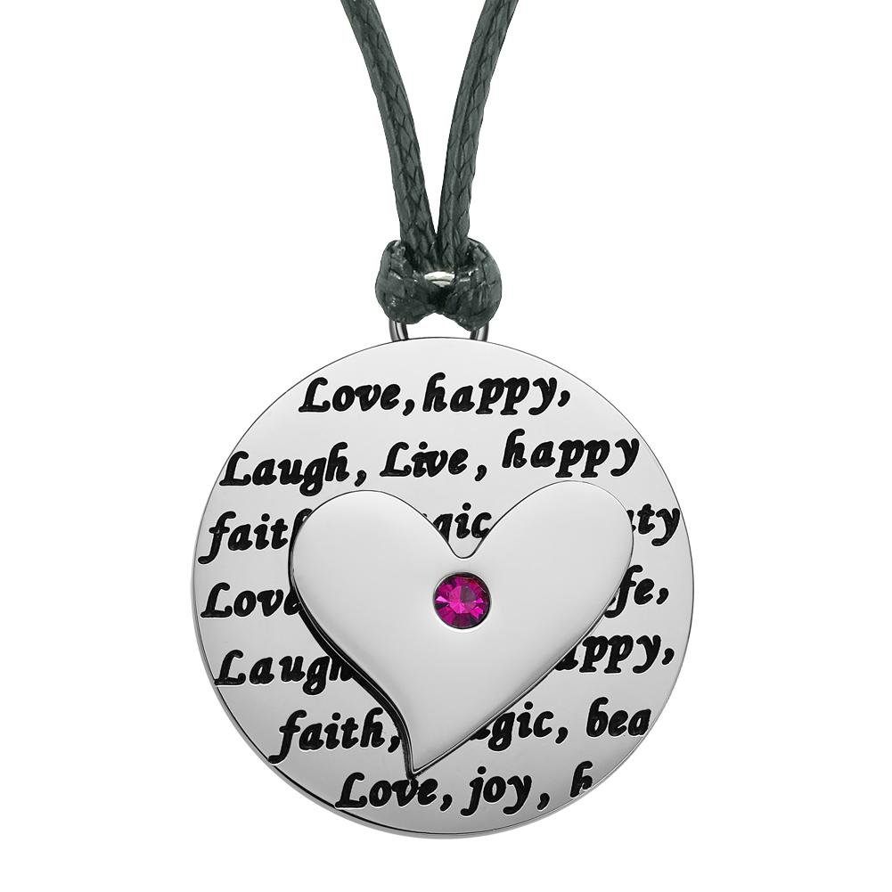 Amazing Fashion Lucky Heart Charms Pendant Necklaces Jewelry Amulets