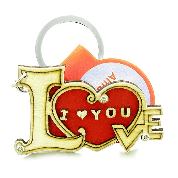 Unique and Magical Lucky Heart Keychain Good Luck Charms and Amulets