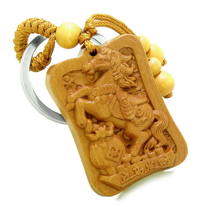 Horse Totems Courage and Wild Powers Keychains Good Luck Charms Amulets and Talismans