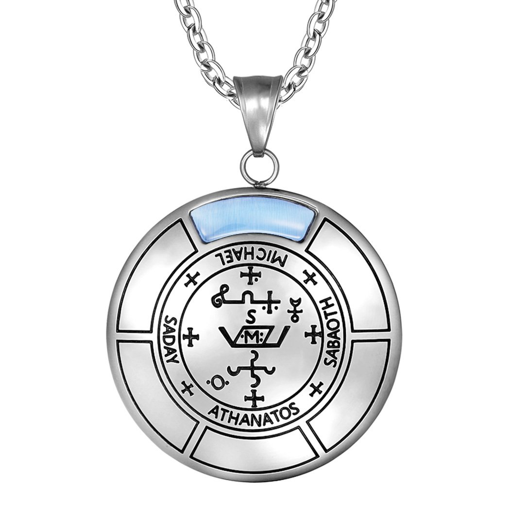 Archangel Sigils Fashion and Gemstone Inspirational Medallions Jewelry Amulets and Talismans