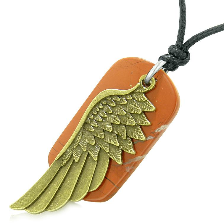 Inspirational Angel Unique Dog Tag Protection Energy Jewelry Amulets and Talismans