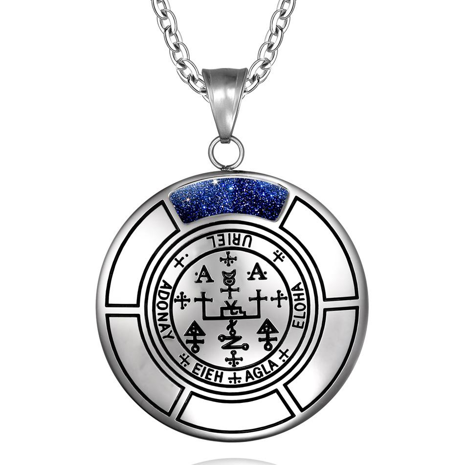 Inspirational Archangel Sigils Unique Crystal Medallions Jewelry Amulets and Talismans