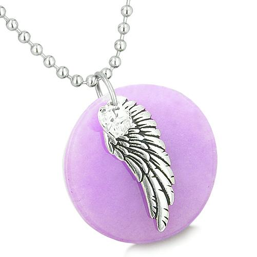 Inspirational Angel Medallions Positive and Protection Powers Jewelry Amulets and Talismans