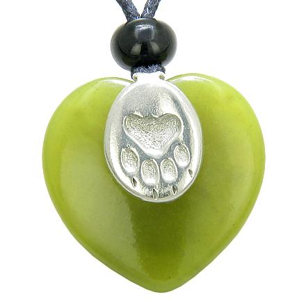 Jade Gemstone Heart Shaped Gifts and Jewelry