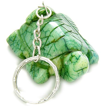 Jade Gemstone Keychain Lucky Charms and Gifts