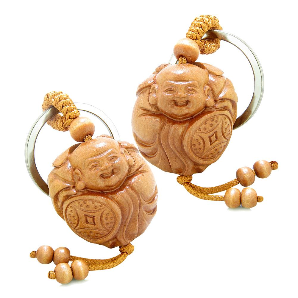 Lucky Buddha Magic Powers Love Couples and Best Friends Sets Amulets and Talismans
