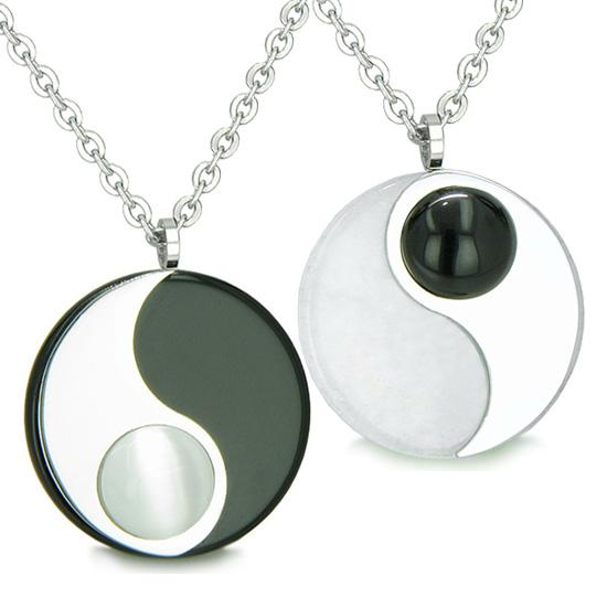Lucky Yin Yang Magic Powers Love Couples and Best Friends Sets Amulets and Talismans