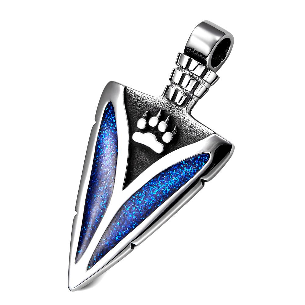 Wolf Paw Jewelry Arrowhead Protection and Good Luck Powers Necklaces and Amulets