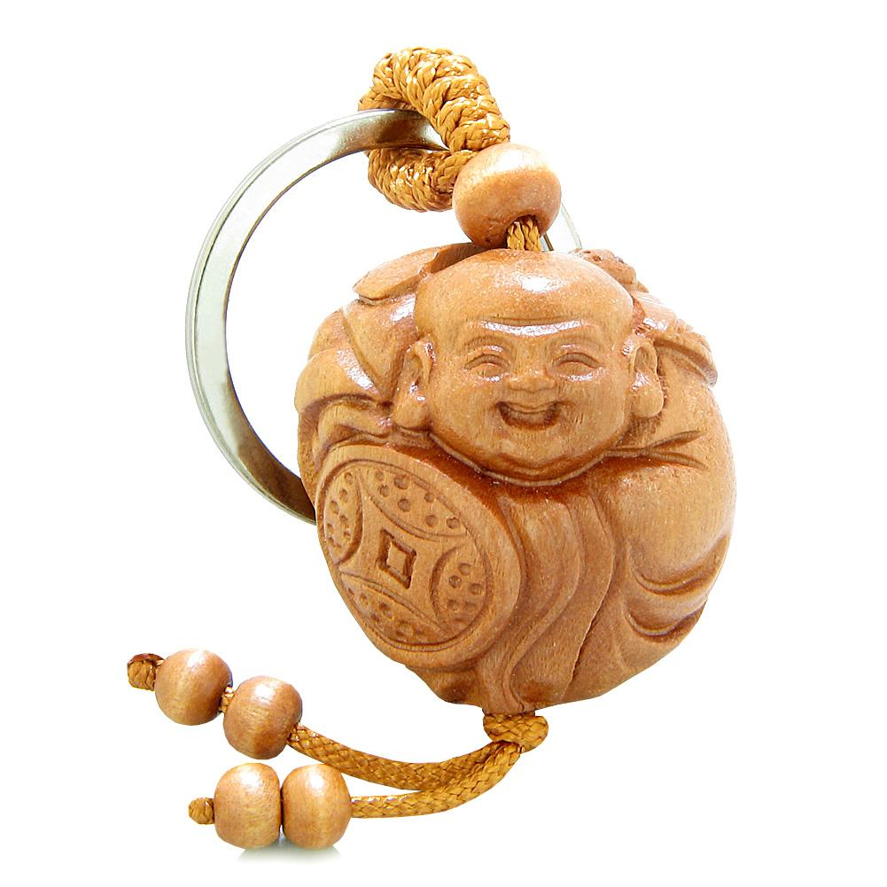Lucky Charms Unique Laughing Buddha Magic Powers Keychains and Amulets