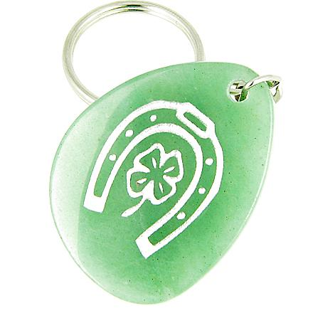 Lucky Charms Natural Gemstones and Wish Stones Good Luck Powers Keychains and Amulets
