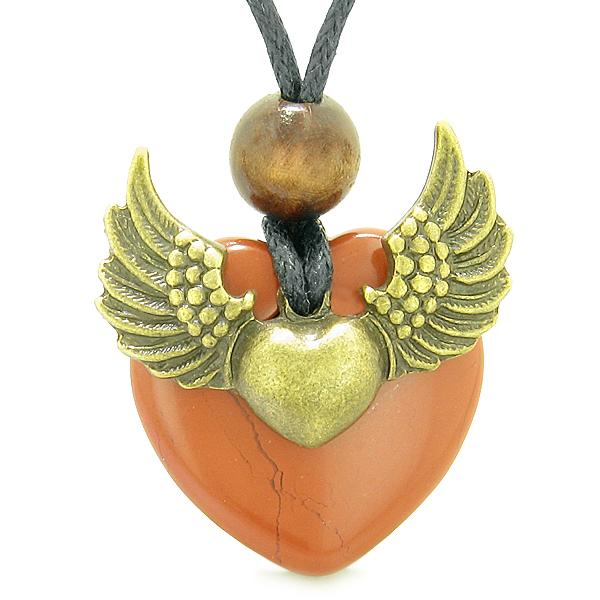 Protection Powers Lucky Heart Unique Guardian Angel Jewelry Necklaces and Gifts